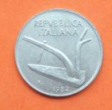 ITALIA 10 LIRE 1982 -UNC, Europa