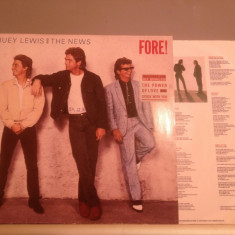 HUEY LEWIS AND THE NEWS - FORE! (1986/RCA REC/ RFG ) - disc vinil/pick-up/vinyl - Muzica Rock rca records
