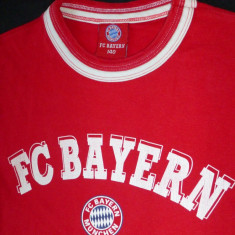 Tricou FC Bayern Munchen; marime 140 (un XS la noi), vezi dimensiuni exacte - Tricou barbati, Culoare: Din imagine, Maneca scurta
