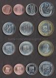 VENEZUELA SET COMPLET MONEDE 1, 5, 10, 12 1/2, 25, 50 Cent., 1 Bolivar 2007 UNC, America Centrala si de Sud