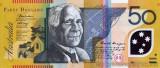 AUSTRALIA █ bancnota █ 50 Dollars █ 2008 █ P-60f █ UNC █ necirculata █ polymer