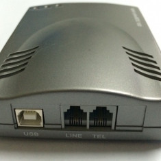 Interfata VOIP Tiptel cyberBOX 100 Skype