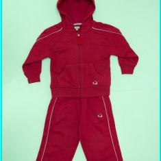 Trening din bumbac, vatuit, impecabil, marca TEX _ baieti | 2 - 3 ani | 98 cm, Marime: Alta, Culoare: Rosu, Unisex