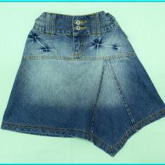 DEOSEBITA _ Fusta / fustita blugi, design deosebit NOISE _ fete | 9-10 ani | 140, Marime: Alta, Culoare: Albastru