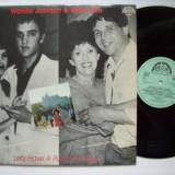 Disc vinil ( vinyl , pick-up ) WANDA JACKSON & KAREL ZICH - Let's have a party in Prague (produs SUPRAPHON Cehoslovacia - in stare buna - 1987)