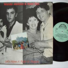Disc vinil ( vinyl, pick-up ) WANDA JACKSON & KAREL ZICH - Let's have a party in Prague (produs SUPRAPHON Cehoslovacia - in stare buna - 1987) - Muzica Pop Altele