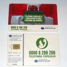 Cartela telefonica - COPIL - TELEFONUL COPILULUI - CRACIUN - 2007 - 2+1 gratis pt produse la pret fix - RBK4452 - Cartela telefonica romaneasca