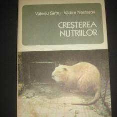 VALERIU SARBU* VADIM NESTEROV - CRESTEREA NUTRIILOR {1979} - Ghid de calatorie