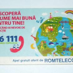 Cartela telefonica - DESEN - ARTA - COPII - O LUME MAI BUNA - 2009 - 2+1 gratis pt produse la pret fix - RBK4466 - Cartela telefonica romaneasca