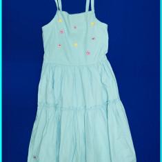 Rochie / rochita de vara, bretele reglabile, bumbac, TCM _ fete | 9-10 ani | 140, Marime: Alta, Culoare: Bleu
