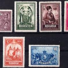 ROMANIA 1929 - 10 ANI DE LA UNIREA TRANSILVANIEI, serie nestampilata M141 - Timbre Romania