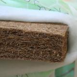 Saltea fibra cocos 100% bebe - Saltea Copii, 120x60cm