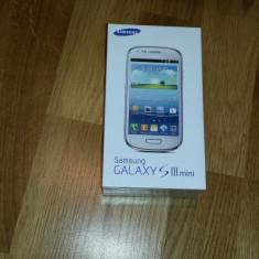VAND SAMSUNG S3 MINI ALB SIGILAT CU FACTURA LIBER DE RETEA - Telefon mobil Samsung Galaxy S3 Mini, 8GB, Neblocat