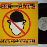 Disc vinil ( vinyl , pick-up ) MEN WITHOUT HATS - Rhythm of youth (produs BACKSTREET - MCA RECORDS U.S.A. 1983)
