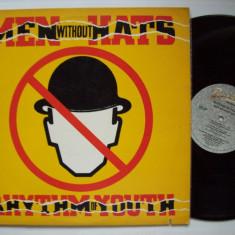 Disc vinil ( vinyl, pick-up ) MEN WITHOUT HATS - Rhythm of youth (produs BACKSTREET - MCA RECORDS U.S.A. 1983) - Muzica Pop Altele