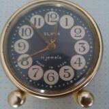 Ceas de colectie marca SLAVA 3 functional - Ceas de masa