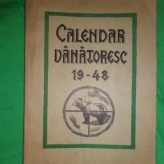 Calendar vanatoresc 1948./anul intaiu, Alta editura