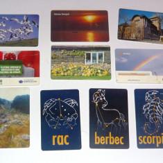 MOKAZIE! Lot / Set 10 cartele telefonice - 2+1 gratis pt produse la pret fix - MOK230 - lot colectie