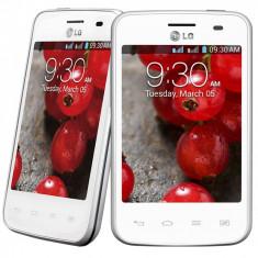 LG L3 II DUAL SIM - Telefon mobil LG Optimus L3 II, Alb, Telekom