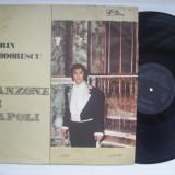Disc vinil ( vinyl , pick-up ) DORIN TEODORESCU - Canzone di Napoli (ST - ECE 03599 - Orchestra si aranjamente muzicale: Cornel Popescu)
