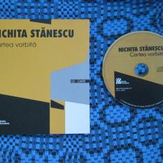 NICHITA STANESCU - CARTEA VORBITA (CARTE + CD cu NICHITA STANESCU recitand 57 de poezii, 2013, editie de lux) - Carte de lux