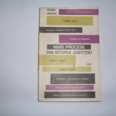 Yolanda  Eminescu Mari procese din istoria justitiei Ed. St. 1970,RF4/1, Alta editura