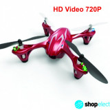 Hubsan X4 H107C HD 2Mp | Mini Quadcopter 4D Tehnologie 2.4GHz+CADOU - Drona