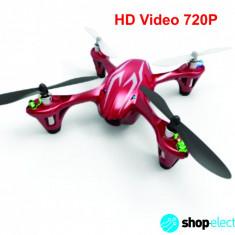 Hubsan X4 H107C HD 2Mp | Mini Quadcopter 4D Tehnologie 2.4GHz+CADOU - Drona