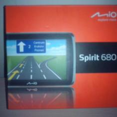 GPS MIO SPIRIT 680 Mio Technology, 5 inch, Europa de est, Lifetime, Comanda vocala: 1, Sugestii multiple de cai: 1