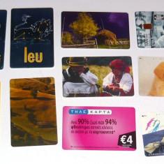 MOKAZIE! Lot / Set 10 cartele telefonice - 2+1 gratis pt produse la pret fix - MOK234 - lot colectie