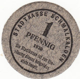 Germania Notgeldes 1 pfennig 1920
