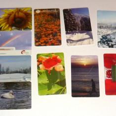 MOKAZIE! Lot / Set 10 cartele telefonice - 2+1 gratis pt produse la pret fix - MOK226 - lot colectie