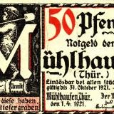 Germania Notgeld 50 pfennig 1921 Tip 2