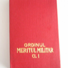 MCD1 - DECORATIE MILITARA - COMUNISTA + BONUS