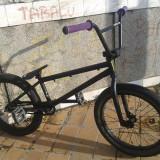 Bicicleta BMX Wtp WeThePeople Arcade 2012, Numar viteze: 1, Otel, Negru mat
