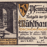 Germania Notgeld  50 pfennig 1921 Tip 1