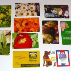 MOKAZIE! Lot / Set 10 cartele telefonice - 2+1 gratis pt produse la pret fix - MOK232 - lot colectie