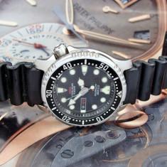 CITIZEN DIVER AUTOMATIC ORIGINAL - Ceas barbatesc Citizen, Lux - sport, Mecanic-Automatic, Inox, Cauciuc, Pentru scufundari (Diver)