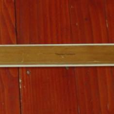 Rigla - liniar lemn din perioada comunista - Tehnolemn Timisoara !!!