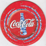 Suport de pahar / Biscuite COCA COLA - Cartonas de colectie