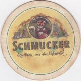 Suport de pahar / Biscuite SCHMUCKER - Cartonas de colectie