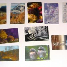 MOKAZIE! Lot / Set 10 cartele telefonice - 2+1 gratis pt produse la pret fix - MOK218 - lot colectie