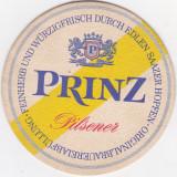 Suport de pahar / Biscuite PRINZ PILSNER - Cartonas de colectie