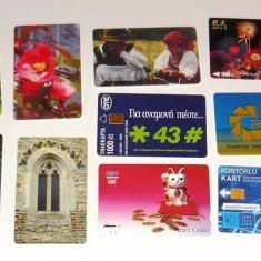 MOKAZIE! Lot / Set 10 cartele telefonice - 2+1 gratis pt produse la pret fix - MOK233 - lot colectie