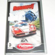 Joc UMD pentru PSP - Burnout : Legends, nou, sigilat !!! - Jocuri PSP Ea Games, Curse auto-moto, 12+