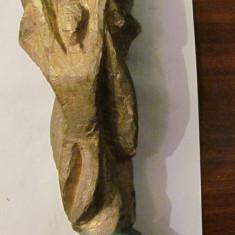 PVM - Sculptura (trofeu) lemn fotbal Cupa Mondiala FIFA