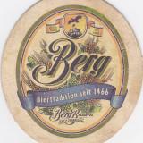 Suport de pahar / Biscuite BERG - Cartonas de colectie