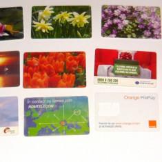 MOKAZIE! Lot / Set 10 cartele telefonice - 2+1 gratis pt produse la pret fix - MOK221 - lot colectie