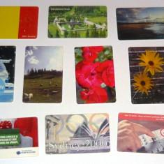 MOKAZIE! Lot / Set 10 cartele telefonice - 2+1 gratis pt produse la pret fix - MOK220 - lot colectie