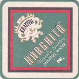 Suport de pahar / Biscuite HARGHITA - Cartonas de colectie